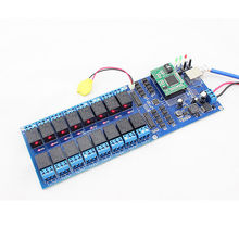 USR-R16-T 16 Channel Remote Relay Switch Controller with TCP/IP LAN Interface with 3 timer switch