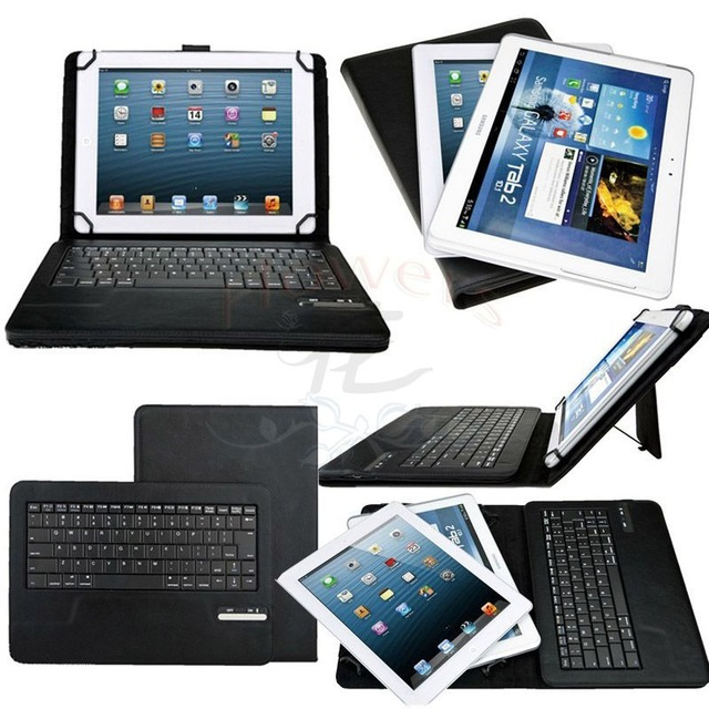 Universal Detachable Wireless Bluetooth Keyboard PU Case Cover Stand For Teclast P98 3G 9.7 / X16HD 10.6 Tablet<br>