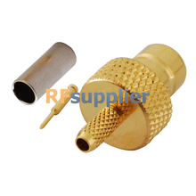 RF Connector SMZ Crimp plug Straight for Cable BT 2002 (5PCS)(China)