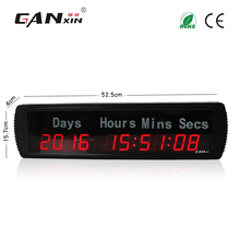 [Ganxin]Wholesale Red Color 1.8'' Days Timing Clock with Countdown Function