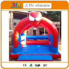 free air shipping to door,kids commercial rental   spiderman inflatable jumper bouncer bounce house