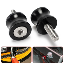 for ducati monster 821 motorcycle swingarm spools Screw slider for yamaha mt09 mt 09 03 01 tmax 500 530 r1 r3 r6 fz6 FJR v-max(China)