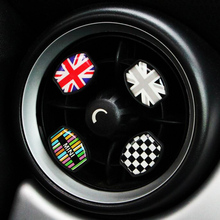 Car Air Condition Outlet Decoration Sticker for Mini Cooper S One JCW Clubman Countryman R50 R52 R53 R55 R56 R58 R59 R61 F55 F56