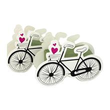 50 unids Bicicleta Pastel de Caramelo de Chocolate Caja de Regalo de Boda Cajas Wedding Party Baby Shower Favor de Partido Suministros