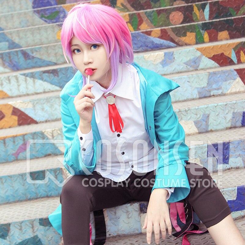 Hot Division Rap Battle Hypnosis Mic Amemura Ramuda easy R Cosplay Costume Set
