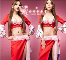 ONE PIECE Cosplay Costume Luffy Boa Hancock Empress party dress