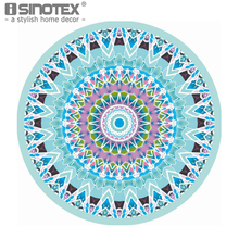 Geometric Printed Chiffon Round Beach Towel 150*150cm/59*59'' Bath Towel Decor Bath Towel Summer Style 1pcs/lot
