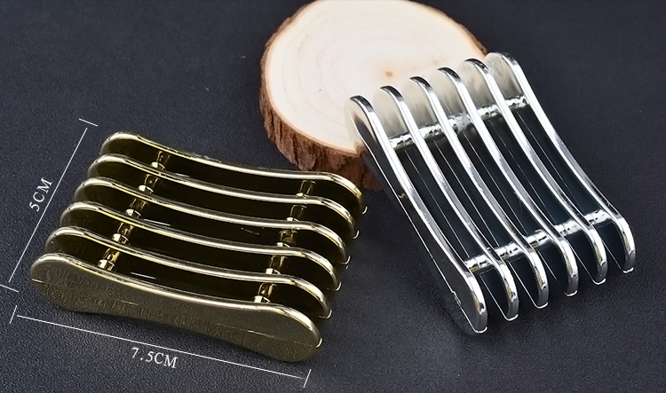 1Pcs 5 Grids Gold Silver Nail Art Brush Rack UV Gel Brushes Pen Rest Holder For Makeup Display Stand Accessories Manicure Tools