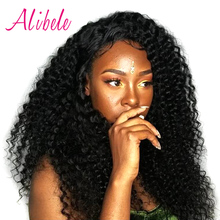 Alibele Malaysian Curly Hair Weave Human Hair Bundles 100g/Piece Can Be Colored 10-28 inch Non Remy Natural Hair Extensions 1B#