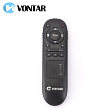 VONTAR 2.4G Wireless air mouse RF Remote Control Laser Presenter Pointer for Multifunctional PowerPoint with Touchpad Mouse(China)
