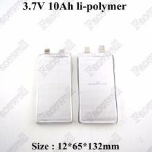 2pcs li-ion 10ah 3.7v 10ah battery li-polymer Not lifepo4 10ah for 12v 10ah diy pack electric bike power tool wheelchair ups toy