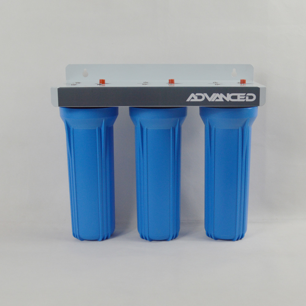 High Flow rate 3 Stage Prefiltration Water Filter ( 10 PP 5micron + 10 GAC filter+10 PP 1micron)<br><br>Aliexpress
