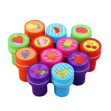 12Pcs/Lot Hot Selling Cartoon Stampers Emoji Smile Face Stamps Children Drawing Toys Wholesale
