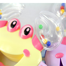 2017 Educational Shaking Rattle Handbell Kids Toys Special Offer Play gro Mobile Baby Chicco Plastic Crab Toy Jingle Baby Kid