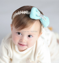 10pcs/2C Fashion Cute Stretch Headbands Solid Kawaii Hair Bow with Glitter Star Girls Hairbands Princess Headware Accessories