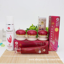 Beauty Whitening female 2+1effective in 7day QiYanXin Yiqi Red Cover(ABC+Cle)5Sets+1pcs rejuvenating Eye Cream free shipping(China)