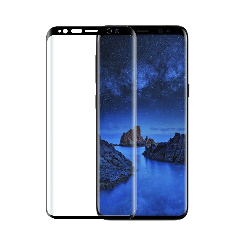 3D Curved Full Cover Tempered Glass For Samsung Galaxy S9 Plus S9 Screen Protector Protective Film For Samsung Galaxy S9 S9+ 7