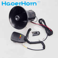 DC 30W 12V 3sound 150db Tone Wehicle Boat Car Motor Motorcycle Van Truck Siren Loud Horn Auto Speaker Alarm can speaker(China)