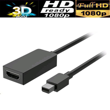 Mini dp to HDMI adapter cable for Microsoft Surface 3 Surface Pro 3 & Pro 4 Surface Book(mini dp-enabled)(China)