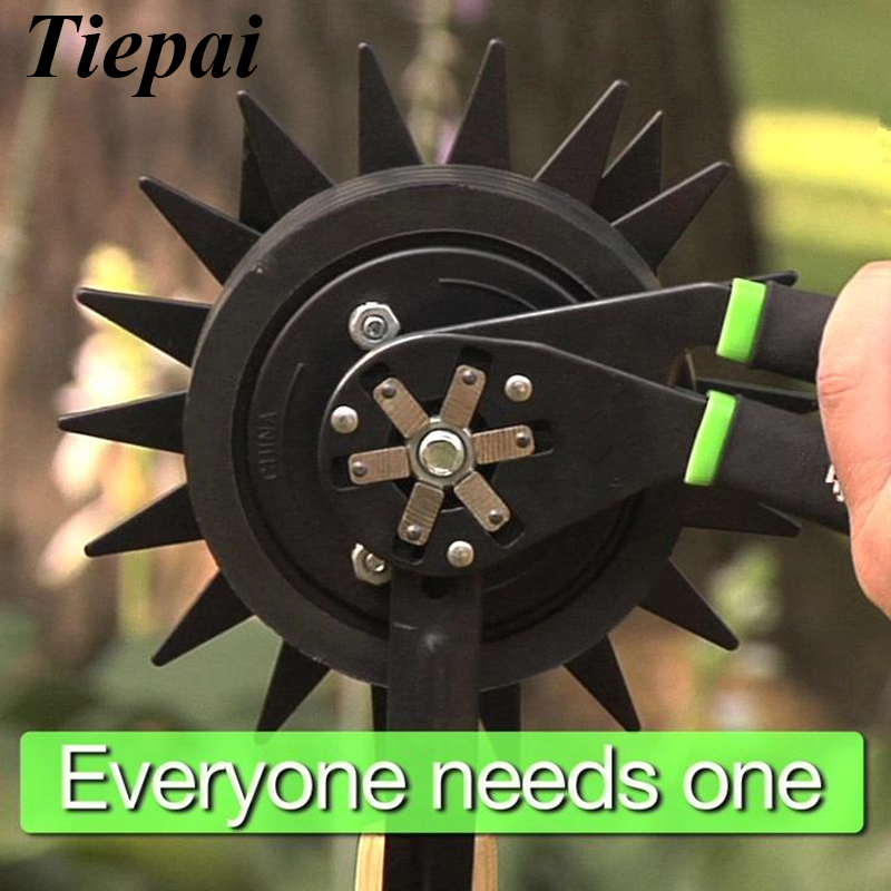 Tiepai 6Inch Adjustable Bionic Wrench 14 Wrenches in 1 Squeeze & Turn Lifetime Warranty Universal Pliers Wrench For SAE & Metric