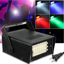 Colorful ABS 24 LED 10W Stage Light Laser Projector Effect Night Lamp Bulb Club DJ Disco KTV Wedding Party AC85-110V(China)
