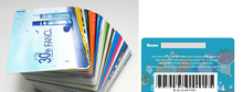 Barcode pvc plastic card / plastic business card printing / pvc card printing(factory price)