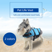 Pet Dog Save Life Jacket Safety Clothes Life Vest Outward Saver Pet Dog Swimming Preserver Small Dog Clothes Summer Swimwear