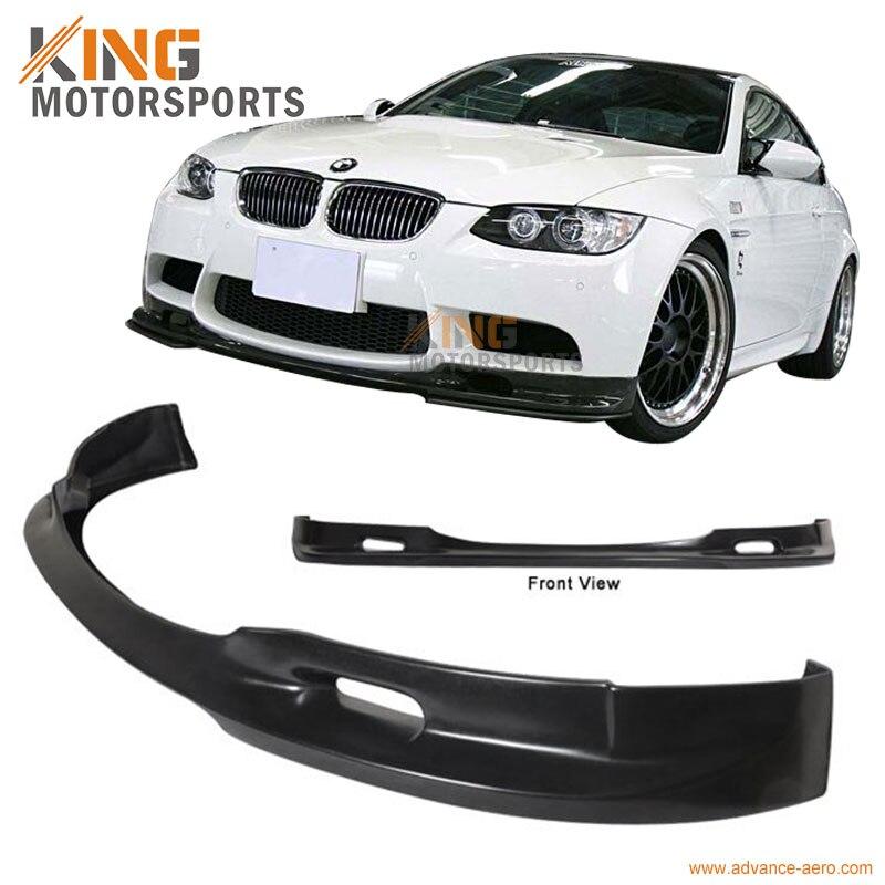 For 07-10 BMW E92 E93 Pre Lci 3 Series Coupe H Style Front Lip Chin Spoiler