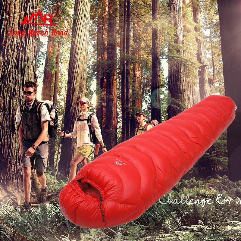 Filling 1000G outdoor camping sleeping bag goose down splicing mummy ultra-light goose down sleeping bag<br><br>Aliexpress