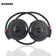 kebidu sport bluetooth wireless headphones Music Stereo Bluetooth Earphones hands-free call for iphone 5 6 plus S5 S6 Note 4(China)