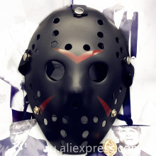 Halloween Scary Mask  Jason Mask Black Cool Masks Jason Freddy Hockey Festival Party halloween masquerade mask macka 1pcs