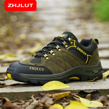 ZHJLUT Men Winter Military Tactical Boots Desert Combat Outdoor Army Travel Shoes Leather Ankle Male  Boots 613