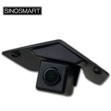 SINOSMART In Stock High Quality Car Front View Parking Camera for Mercedes Benz Series Install in the Brand Logo(China)