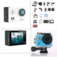 Ultra HD 4K WiFi 1080P 60fps 2.0 LCD 170D Sport Waterproof Action Video Camera for Outdoor Sport Activities Video Record