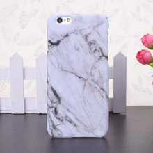Hot Selling Fashion Marble Phone Case Hard PC for iPhone X 8 6 6S 6 7 Plus 5 5s SE Coque Ultrathin Smooth Back Case Cover(China)