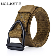 Buy NGLKSTE military belt outdoor tactical belt men&women high canvas belts jeans male Designer luxury casual straps for $9.73 in AliExpress store