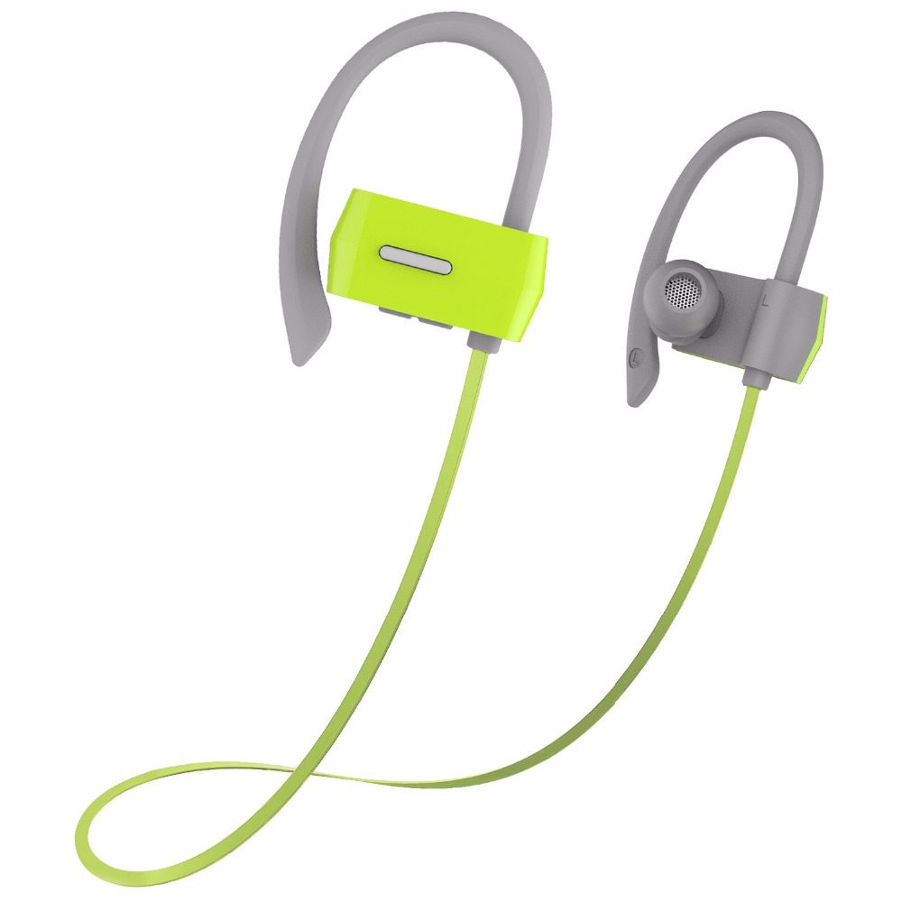 OldShark Bluetooth Earbuds V4.1  Wireless Sport Stereo Headphones with Microphone 7 Hours Play Time Noise Cancelling  Green<br>