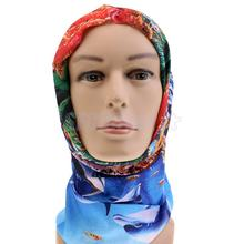 Windproof Fly Fishing Scarf Headwear Multicolor Tube Sun Protection Mask Neck Gaiter Hood Dustproof