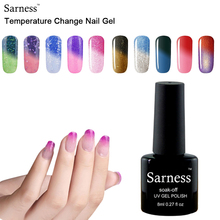 8ML Temperature Chameleon Nail Gel Polish Thermal Color Change UV GeL Nail Soak Off Temperature Changing Color Gel Nail Polish
