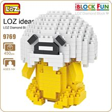LOZ Diamond Blocks Egg Mirco Building Blocks Figures Cartoon Nano Pixels Brick Plastic Assembly Toys Japanese Anime Cute 9769
