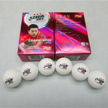 12Pcs/lot New Material DHS 3-star PingPong Balls dhs 40+mm ITTF Approved Table Tennis White CELL-FREE Offical Ball of World Game(China)