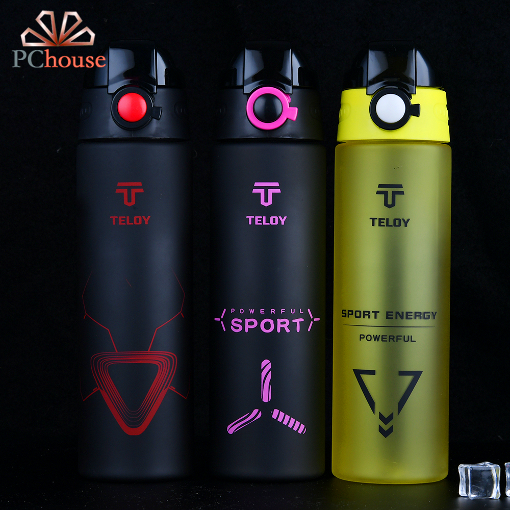 PChouse 2017 New Women Sports Water Bottle BPA Free My Plastic Bottle For 700ml Water Leak Proof Space Bottle Girlfriend Gifts(China (Mainland))