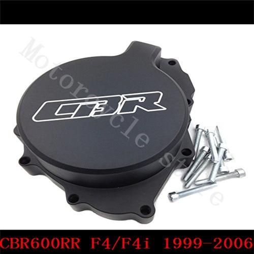 Fit for Honda CBR600RR CBR600 F4 F4i 1999 2000 2001 2002 2003 2004 2005 2006 Motorcycle Engine Stator Cover Black Left side<br>