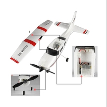 Wltoys F949 3CH 2.4G Micro RC Model Airplane RTF Left Hand Throllte Mode 2(China)