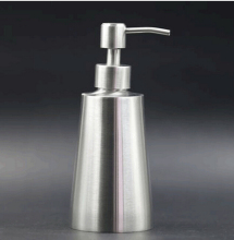 1PC 400ml Hand Sanitizer Bottle Liquid Soap Dispensers 304 Stainless Steel Shower Gel Bottle Home Decor