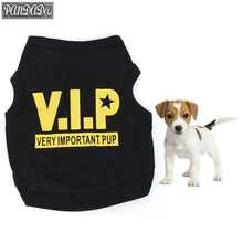 panDaDa Small Dog T Shirt Puppy Warm Winter Vest Pet Clothes VIP Pets honden Tee Shirt Pet Products(China)