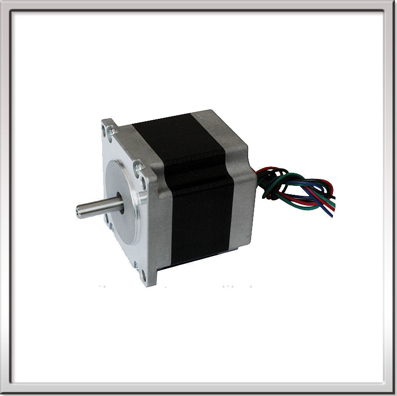 0.9degree 57mm 2 phase hybrid big stepper motor JK57HM56-2804 Nema23 Stepper Motor 4-lead 12kg.cm 2.8A 2.5Vmotor  for CNC XYZ<br>