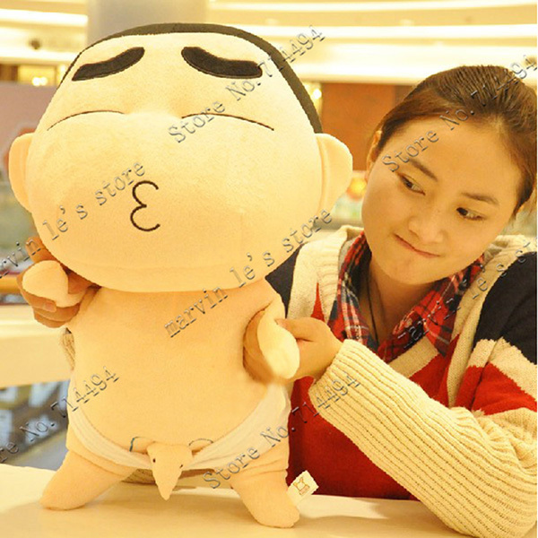 Wholesale 50cm or 35cm Cartoon plush toys crayon Shin-chan new shelves look rich high quality and inexpensive<br><br>Aliexpress