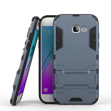 PC+PU Hybrid Cell Phone Cases For Samsung Galaxy A5 2017 Covers A520 A520F A5200 Military Armor Housing Hood Bags Skin Shell