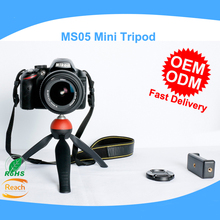 Universal Mini Lightweight Table Top Stand Tripod Grip Stabilizer with Phone clip Holder for Cameras Sony Samsung Mobile Phone
